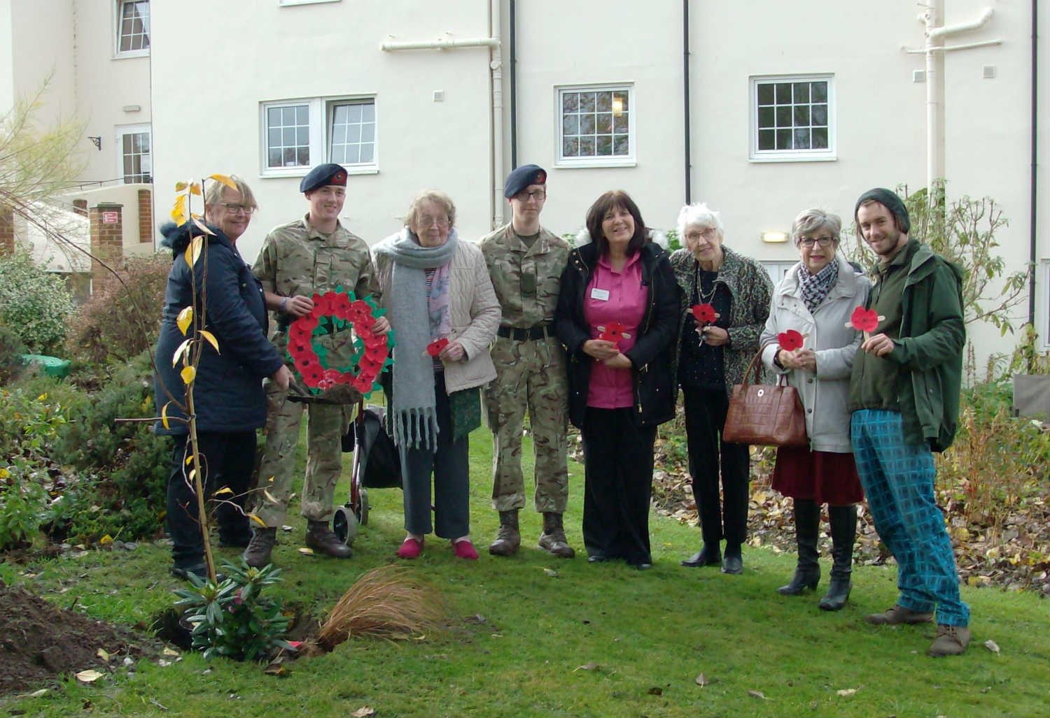 Blackwater Mill Marks The 100 Years Remembrance Day