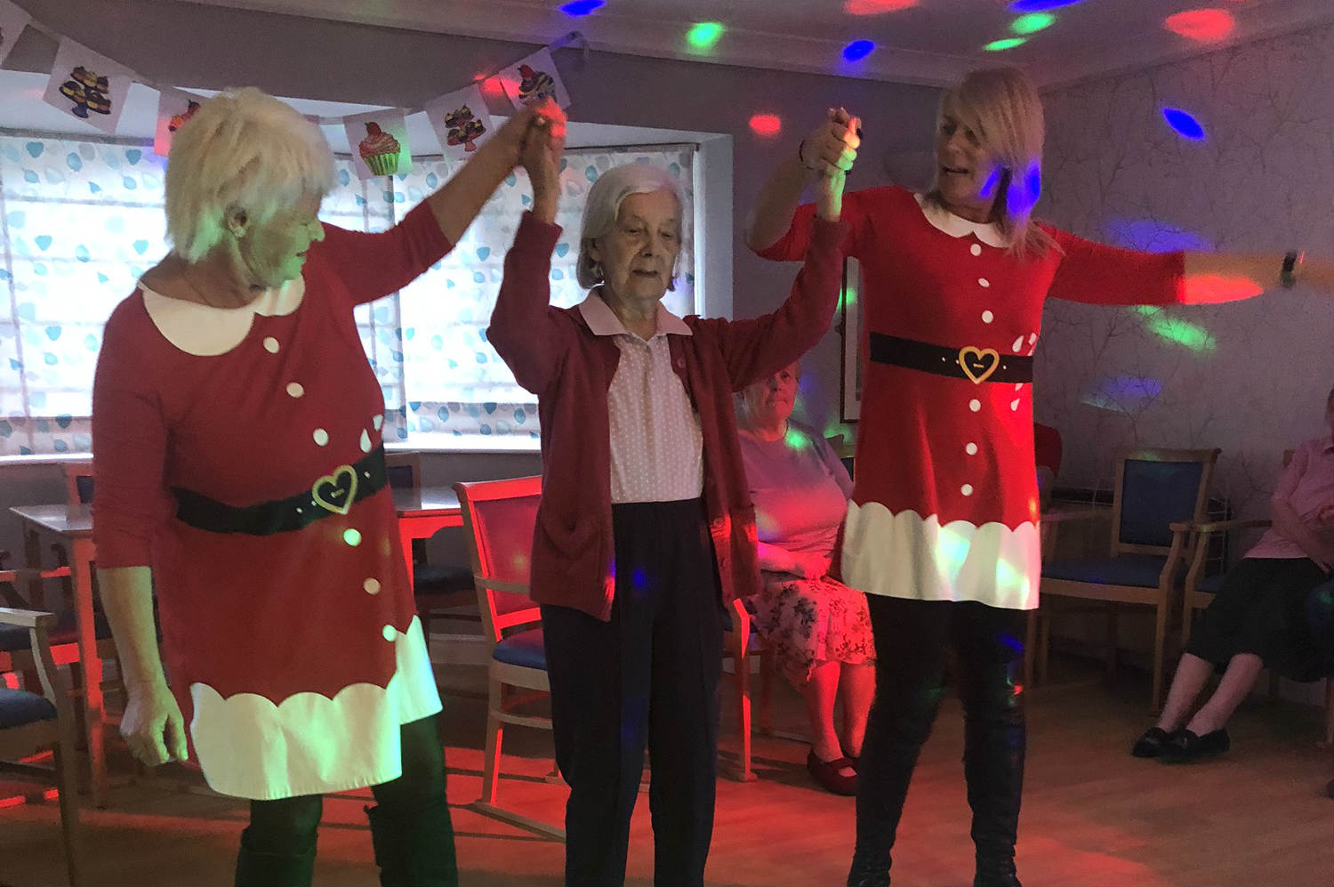 Willow Bank Hold Charity Christmas Disco
