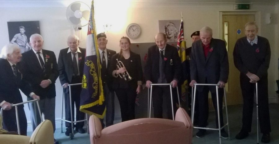 Willow Bank House Holds Remembrance Service
