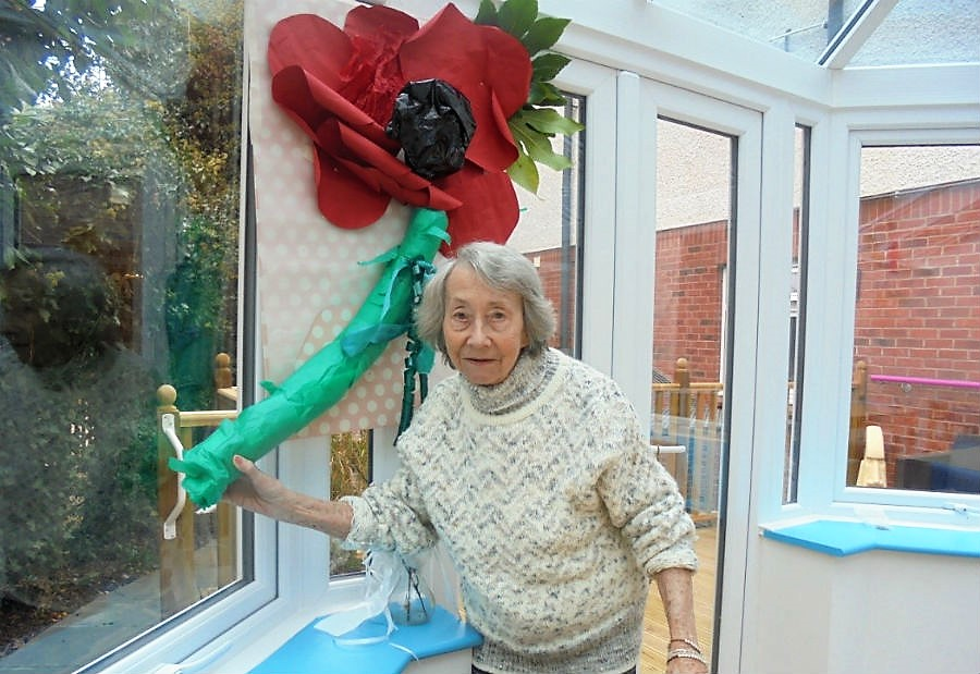Remembrance Day At Brunswick House Nursing Home