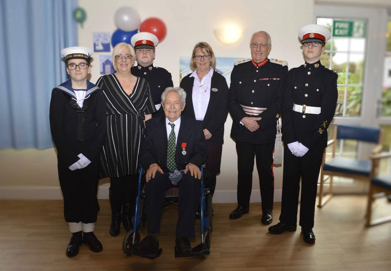 Blackwater Mill Resident Receives Légion d'Honneur