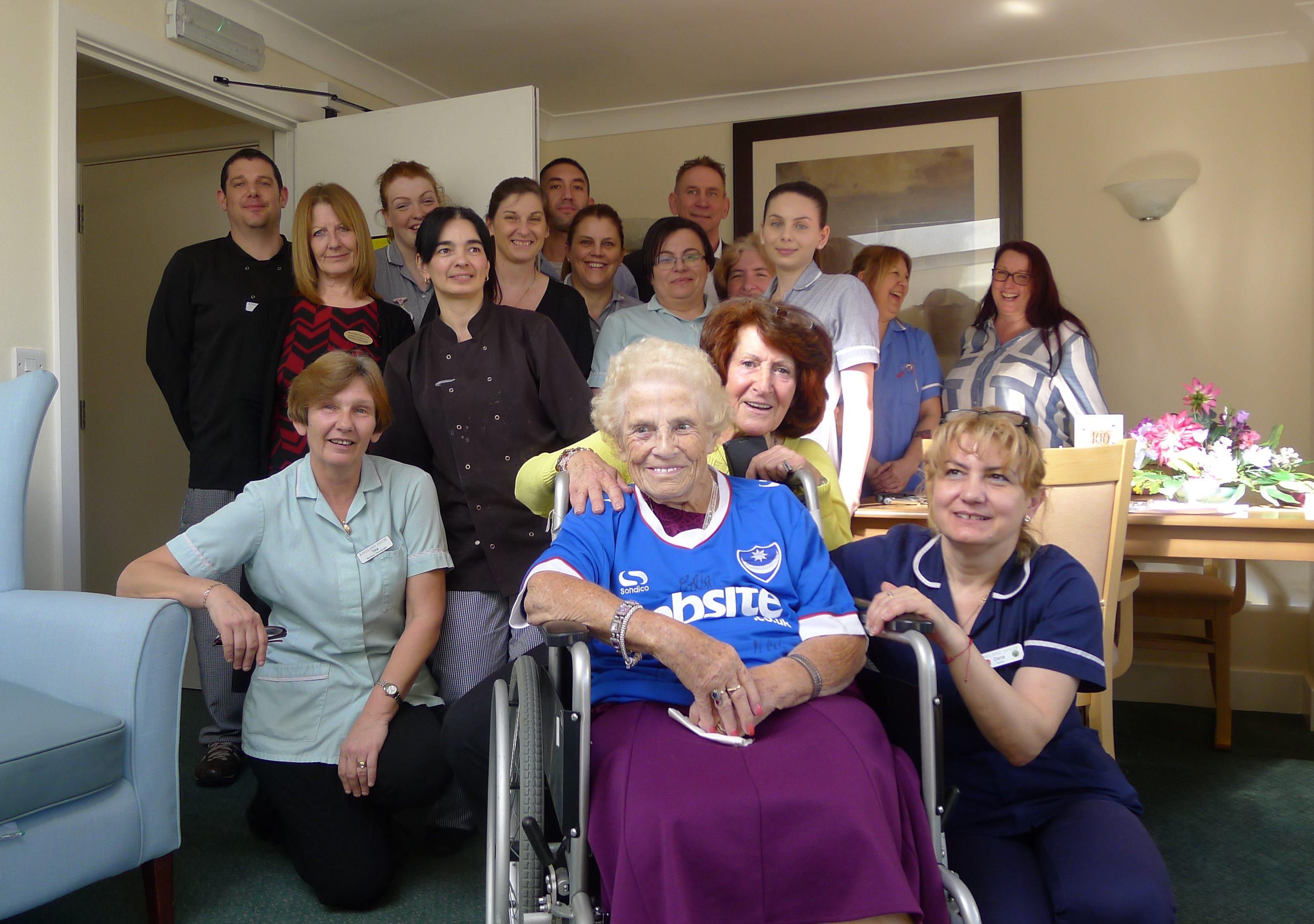 Babs Celebrates Turning 100 at Kingland House