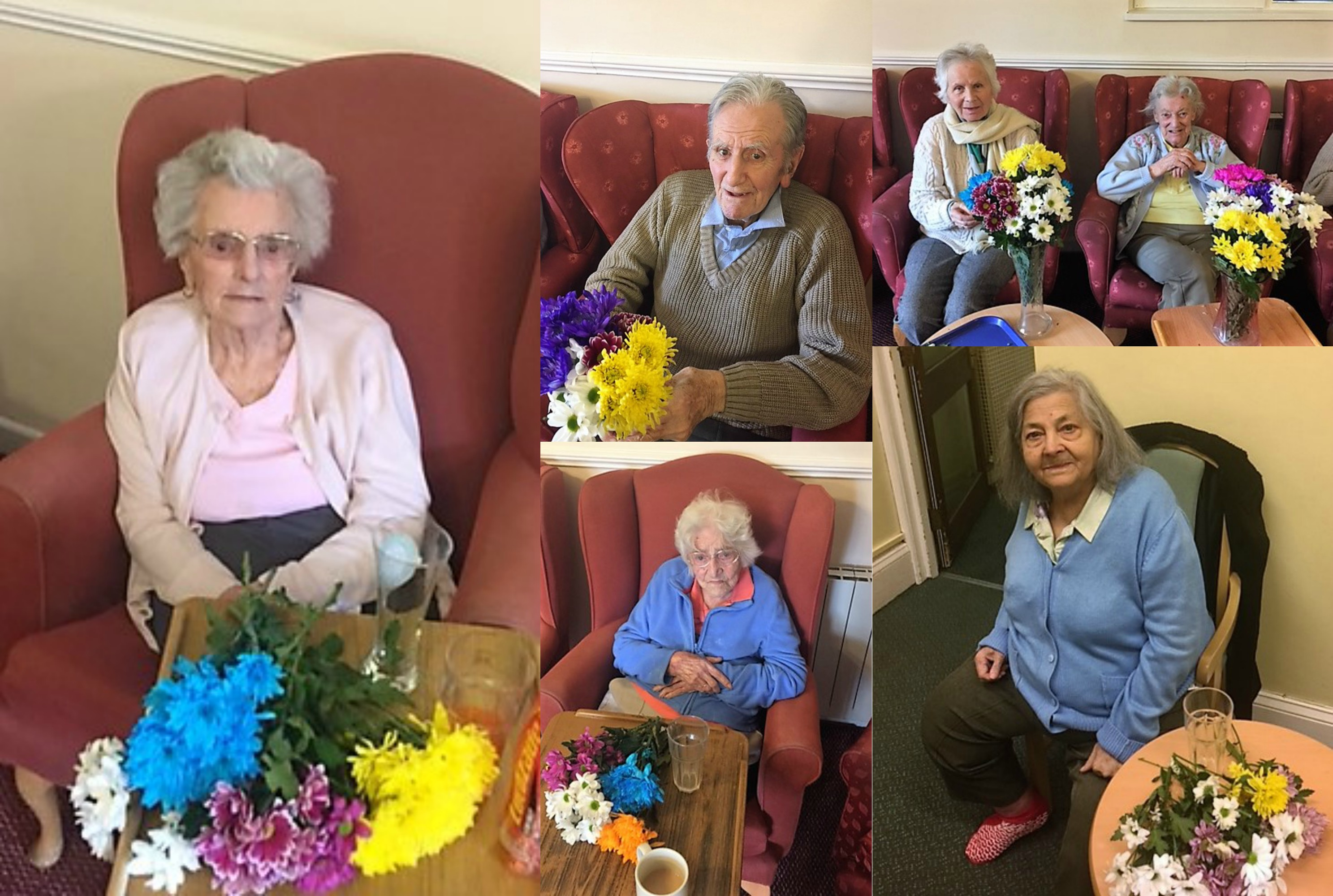 West Bank Residential Home Does Flower Arranging!