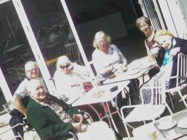 Merry Hall Residents Take a Trip to Garson's Garden Centre
