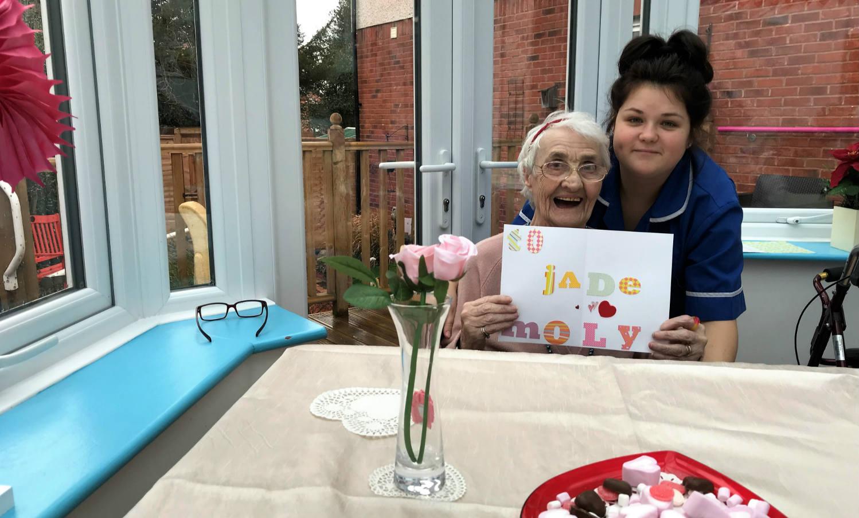Brunswick House Nursing Home Celebrates Valentine's Day