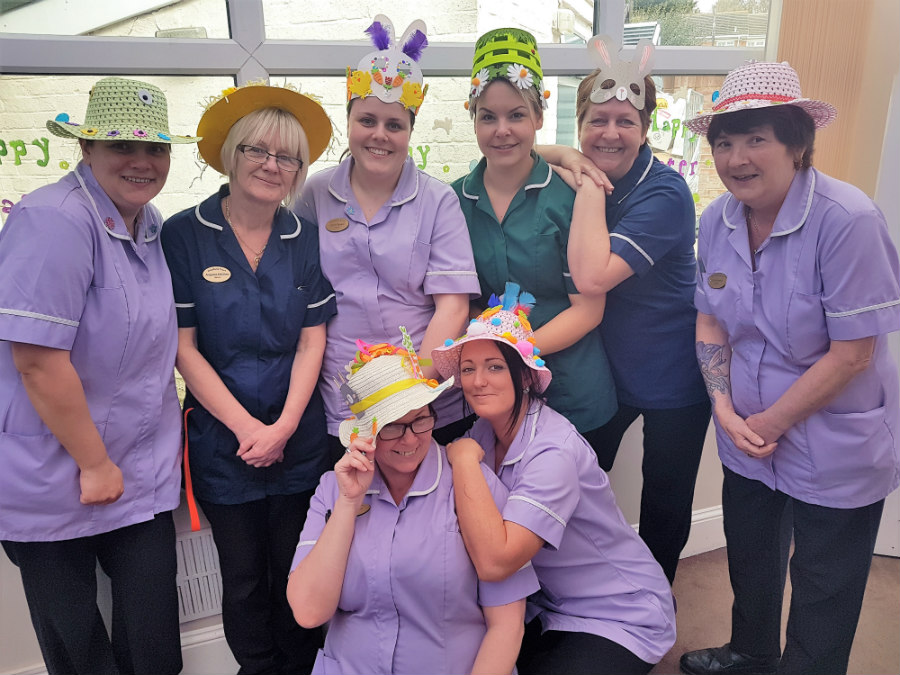 Easter Parade Takes Place At Woodland Court