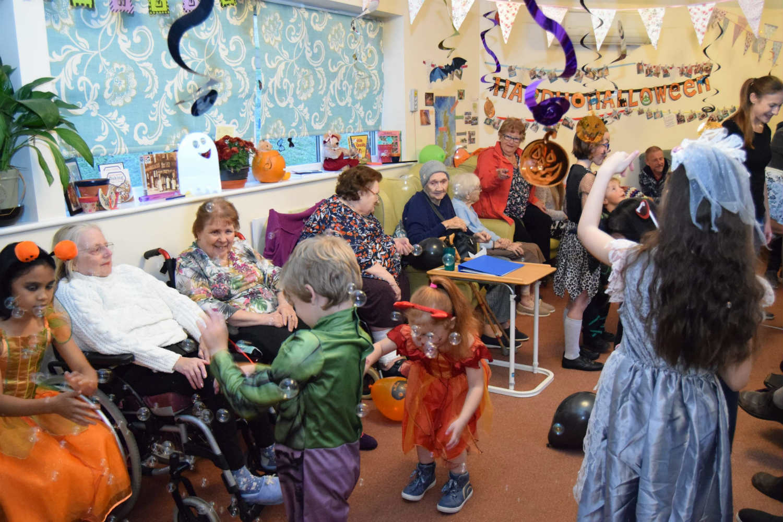Inglefield Hosts Hair-raising Halloween Spooktactular!