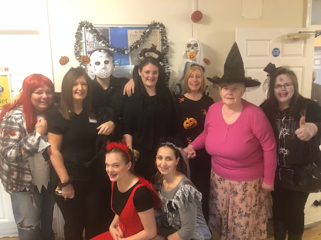 Willow Bank's Spooky Halloween With Local Nursery