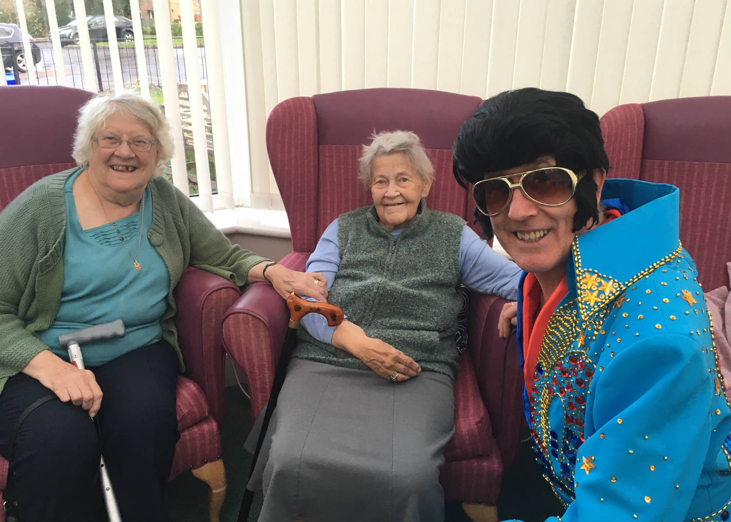 Elvis Visits The Orchards Residential Home