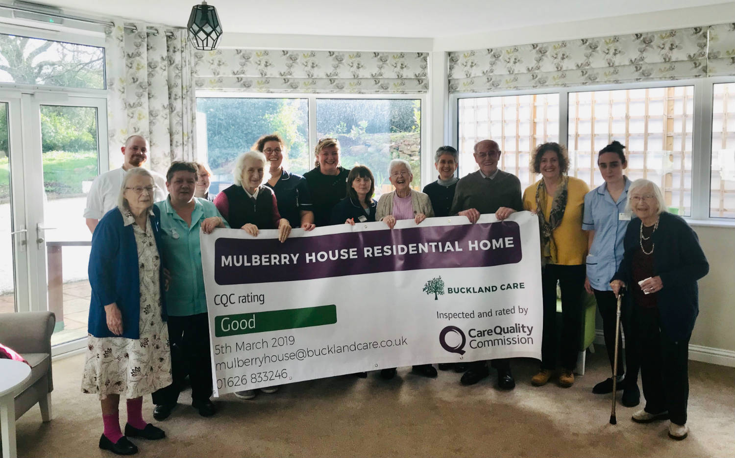 Mulberry House Achieves GOOD in All Areas at CQC Inspection
