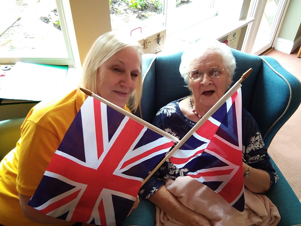 Inglefield Nursing Home Holds Eurovision Party!
