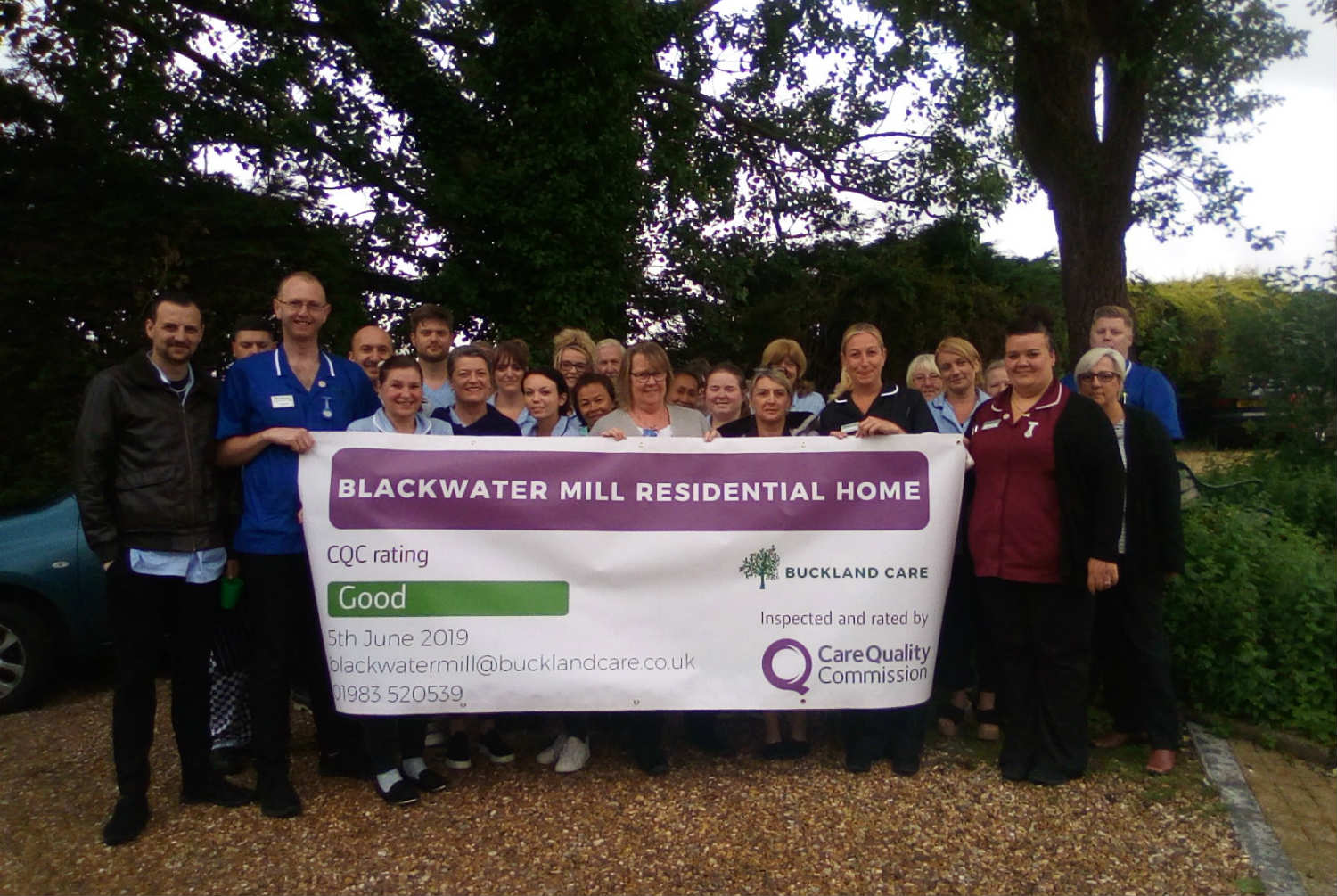 Blackwater Mill Receives 'Good' CQC Rating