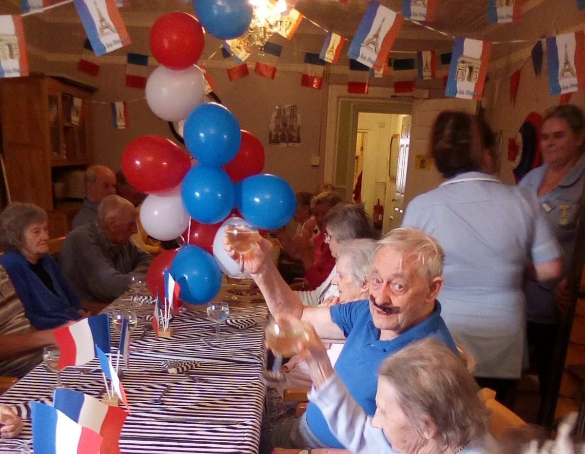 The Orchards Celebrates Bastille Day