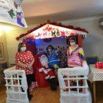 Santa grotto care home