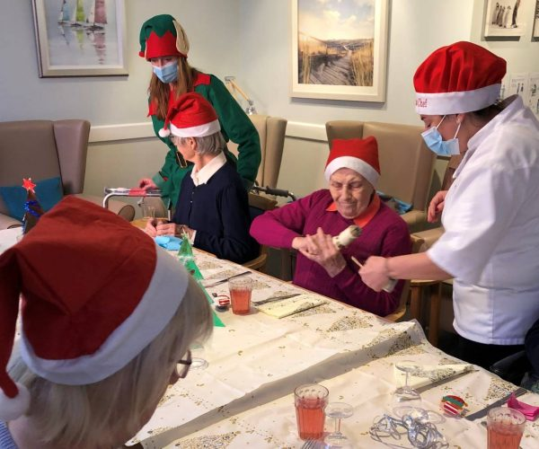 christmas dinner the firs care home